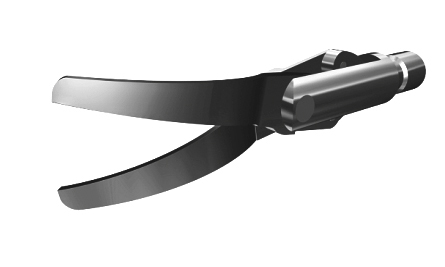 лапароскопические ножницыизогнутые