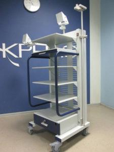 аппаратная стойка для эндоскопов