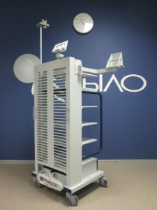 стойки для эндоскопических аппаратов