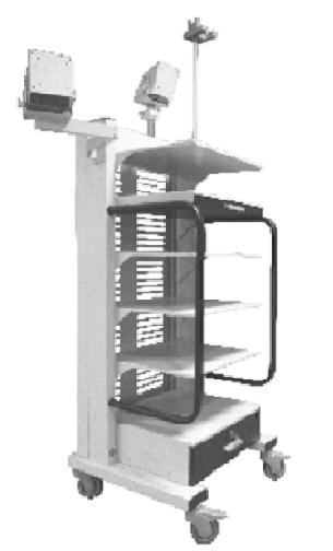 стойка для эндоскопических аппаратов
